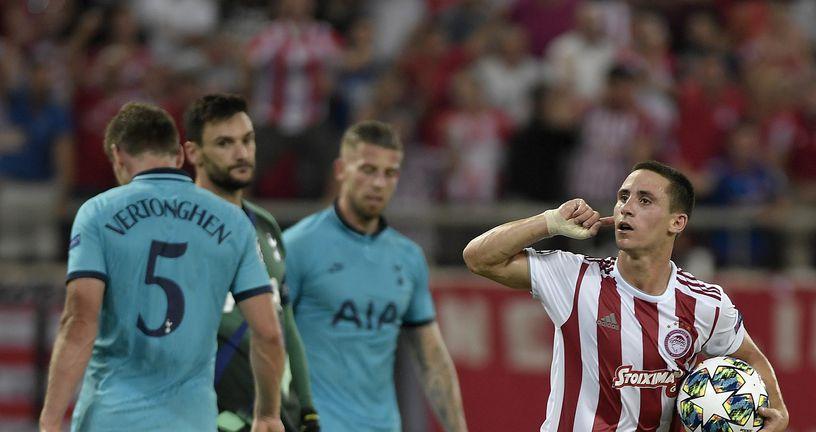 Olympiakos - Tottenham (Foto: AFP)