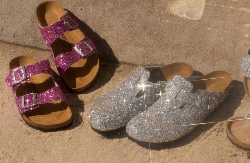 Tri nove Birkenstockove sandale sa šljokicama