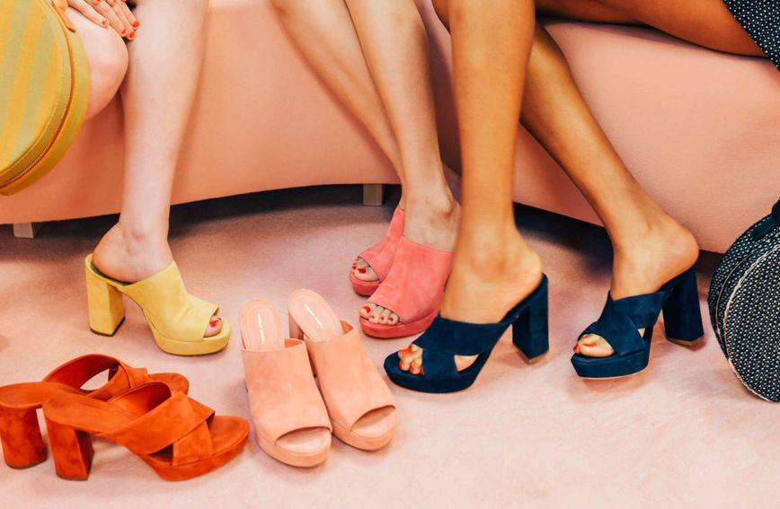 Ove sezone popularan je model cipela s blok-petom