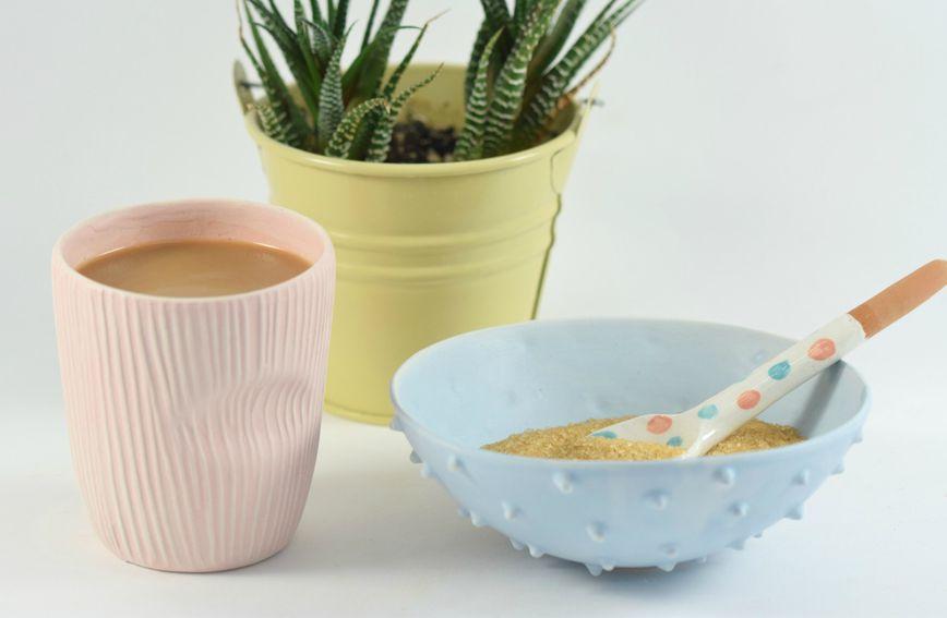 Šalica i zdjelica brenda Krakle Keramika