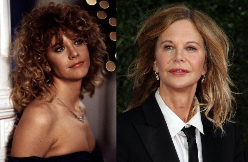 Meg Ryan 1989. i 2019. godine