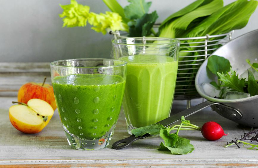 Zeleni smoothie za smanjenje nadutosti
