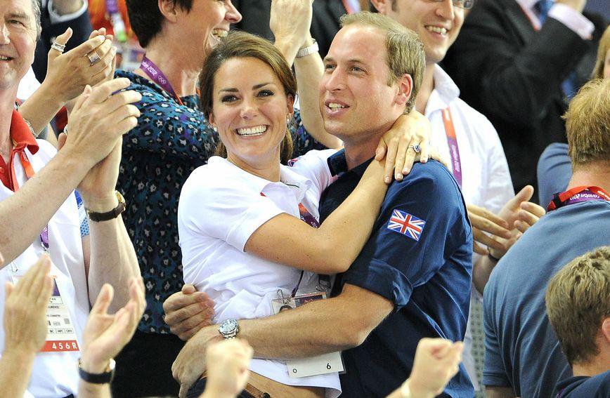 Catherine i William na Olimpijskim igrama u Londonu 2012. godine