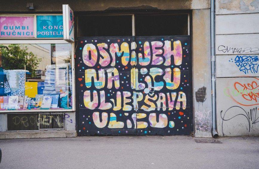 Grafit u Savskoj ulici