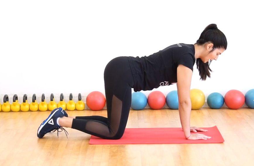 Za vježbe vam je dovoljno malo prostora i prostirka