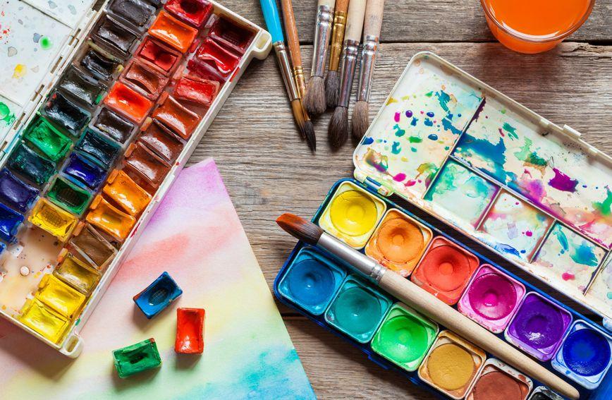 Slikanje vodenim bojama dokazano smanjuje stres i krvni tlak
