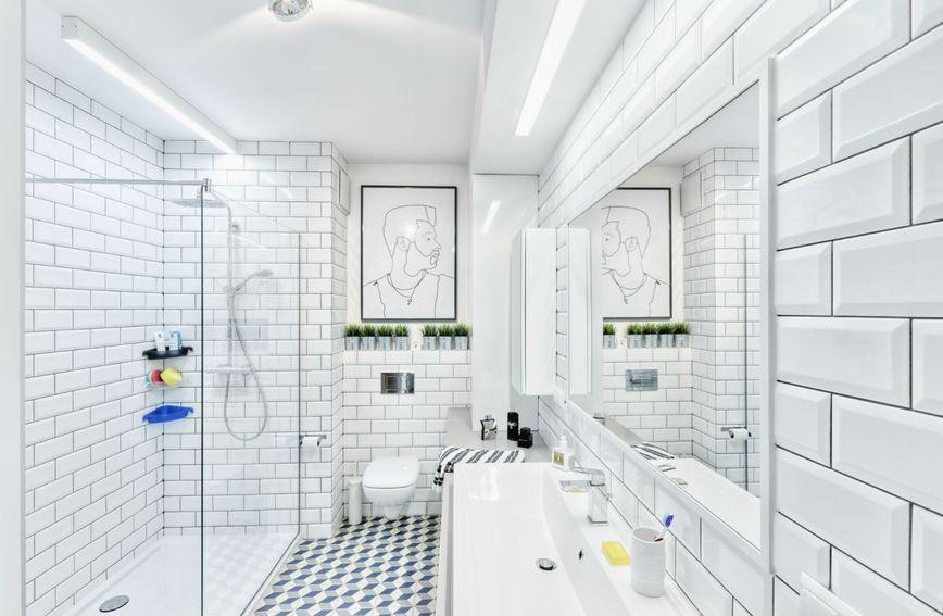 Kupaonice s walk-in tuševima su moderne i elegante