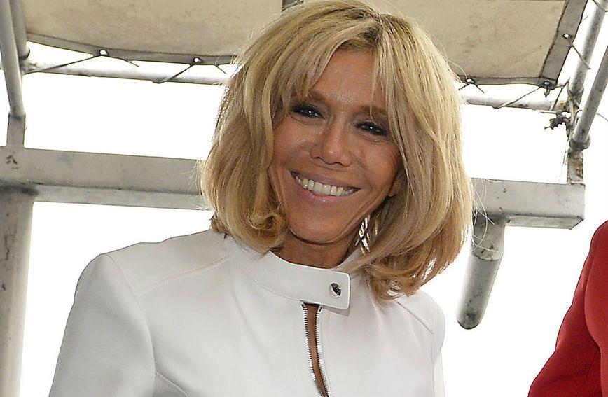 Brigitte Macron uvijek privlači pažnju svojim izdanjima