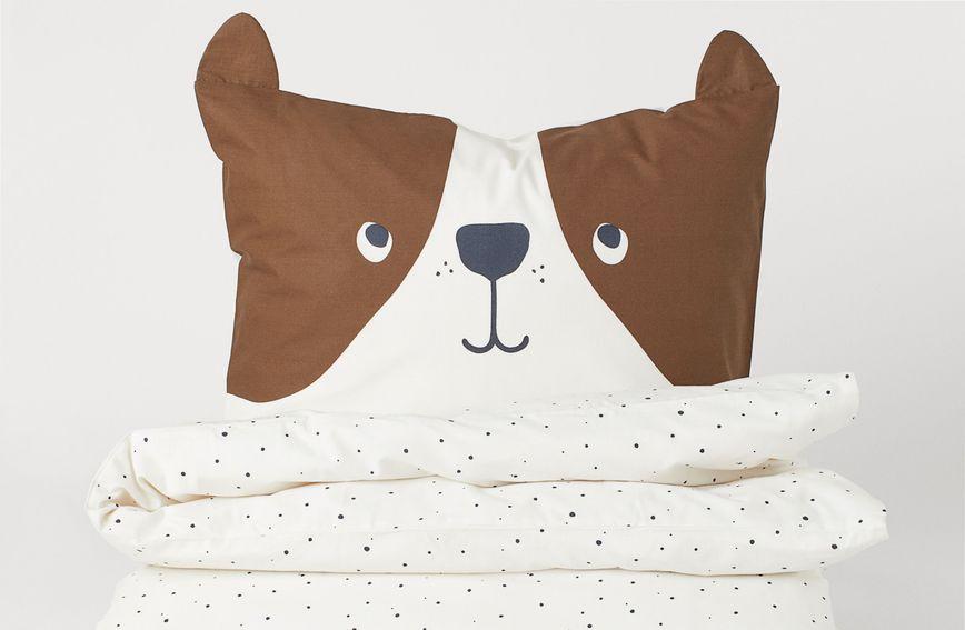 Medena jastučnica s ušima iz trgovine H&M Home