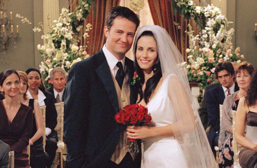 Courteney Cox i Matthew Perry glumili su Monicu i Chandlera u Prijateljima