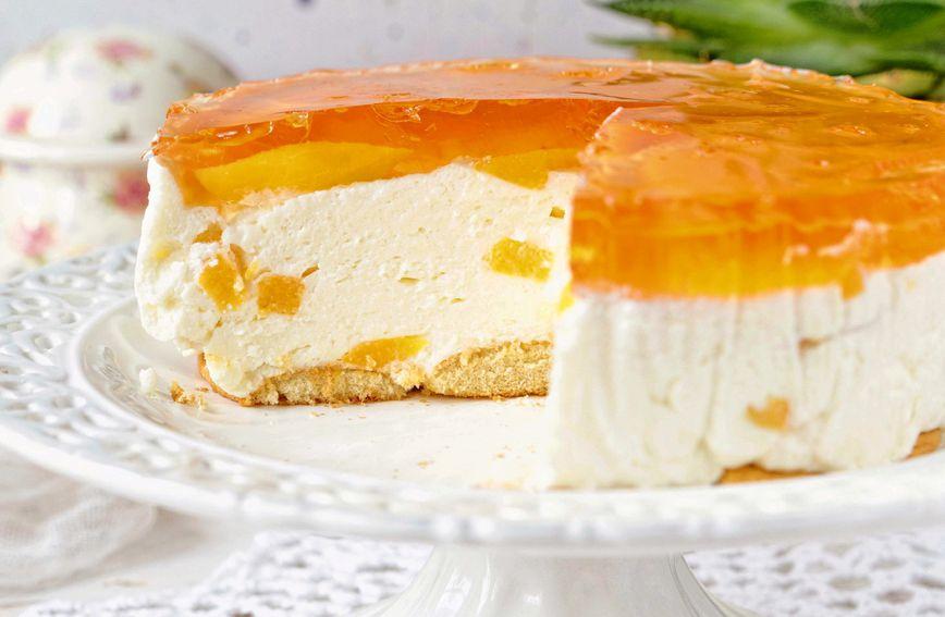 Cheesecake s breskvama