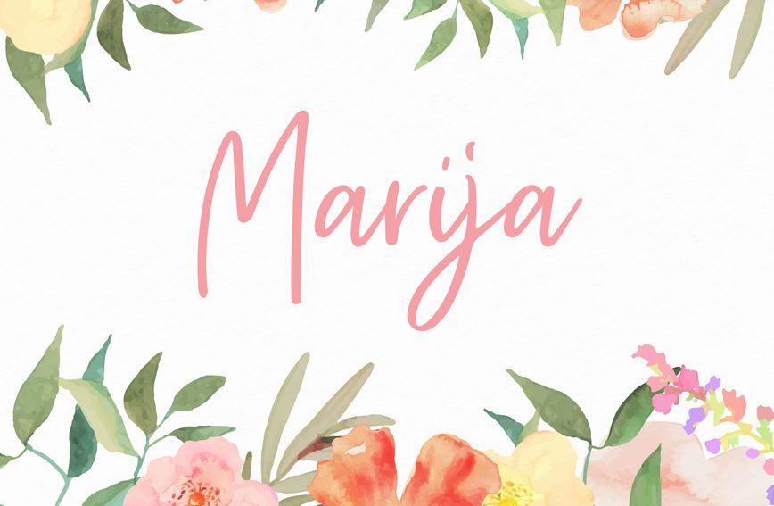 Ime Marija rasprostranjeno je po cijelom svijetu