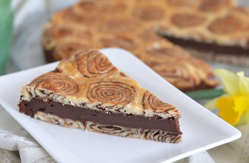 Uvrnuta čokoladna pita Nataše Pralice
