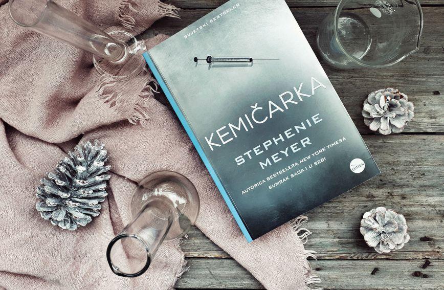 Knjiga 'Kemičarka' autorice Stephenie Meyer je napeti špijunski triler pun neočekivanih zapleta