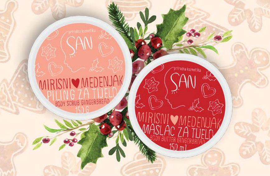 SAN Body Care piling i maslac za tijelo Mirisni medenjak