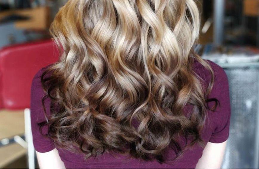 Obrnuti balayage novi je trend u bojanju kose