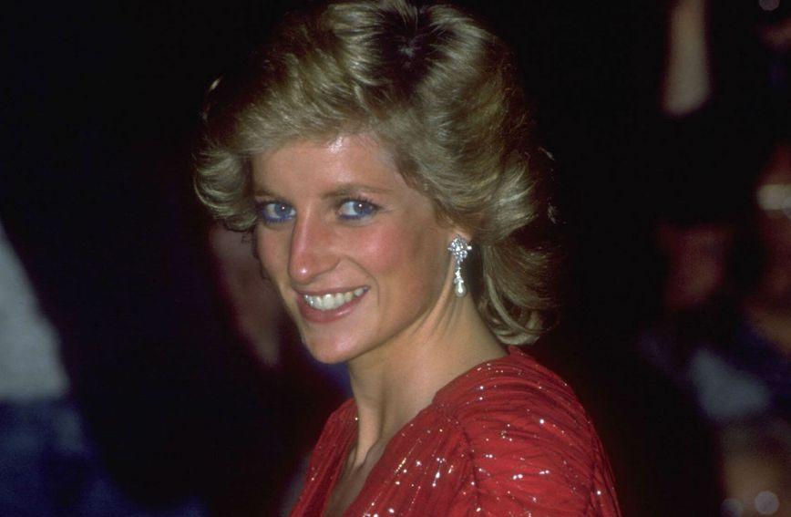 Princeza Diana voljela je nositi plavu olovku za oči