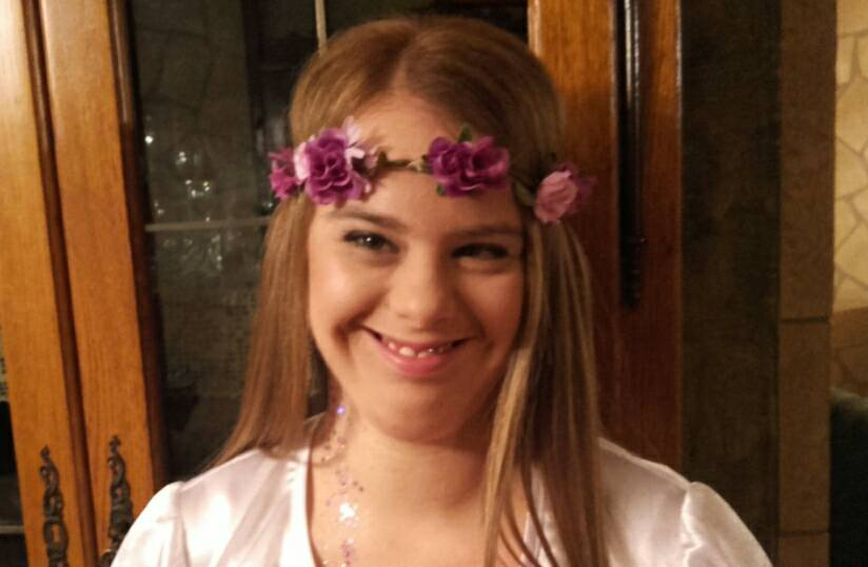 Aurora je rođena s Down sindromom