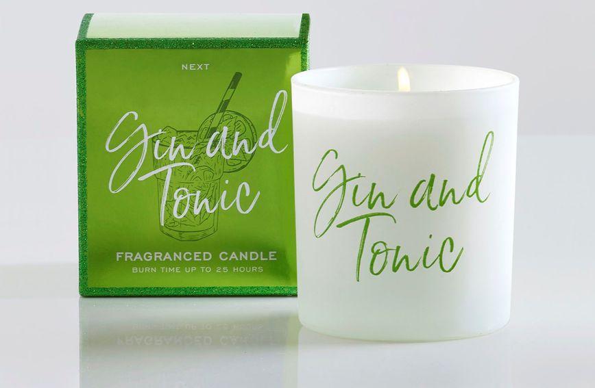 Mirisna svijeća od džin-tonika predmet je želja ljubitelja ovog slasnog pića