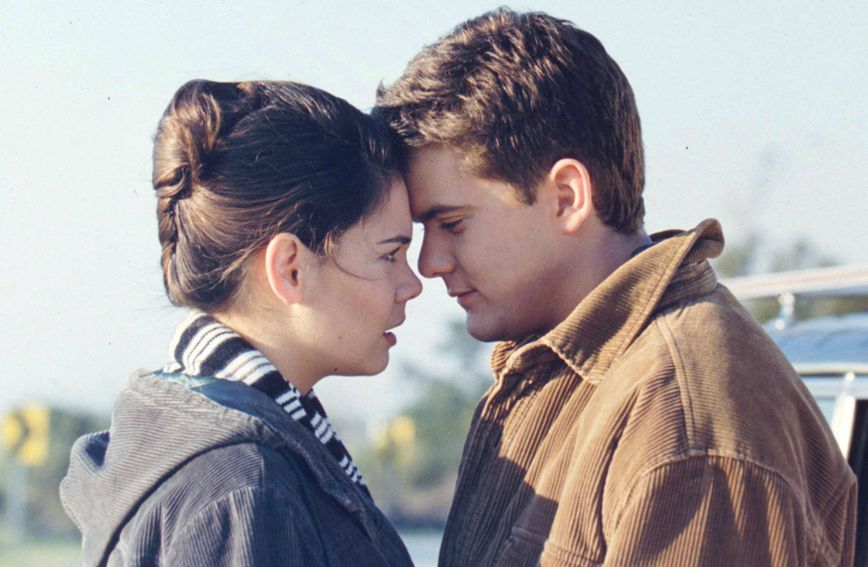 Katie Holmes (Joey Potter) i Joshua Jackson (Pacey Witter)