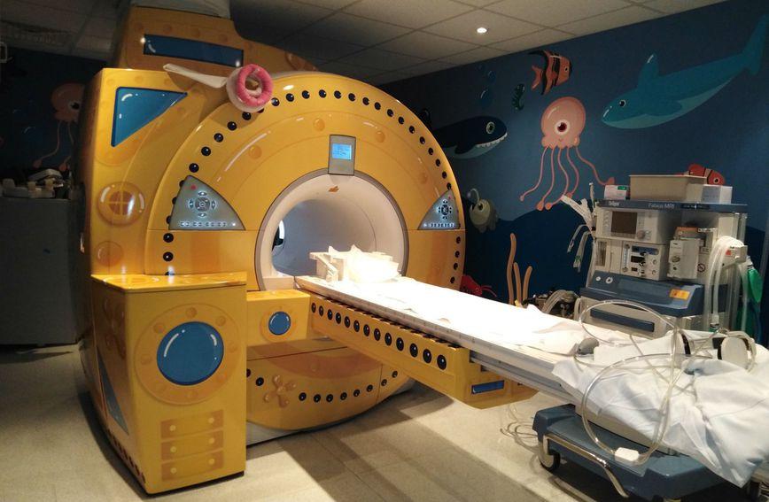 Novi izgled uređaja za magnetnu rezonanciju u Klaićevoj bolnici