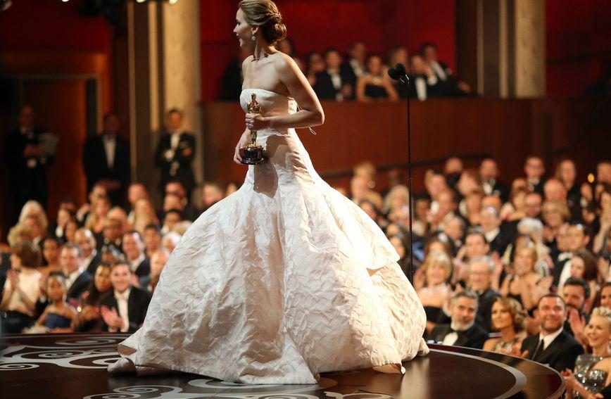 Jennifer Lawrence zablistala je 2013. godine u Dior haljini