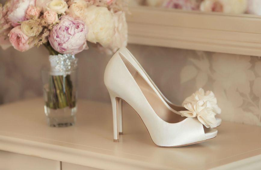 Štikle u nježnoj nijansi klasičan su izbor za vjenčanje