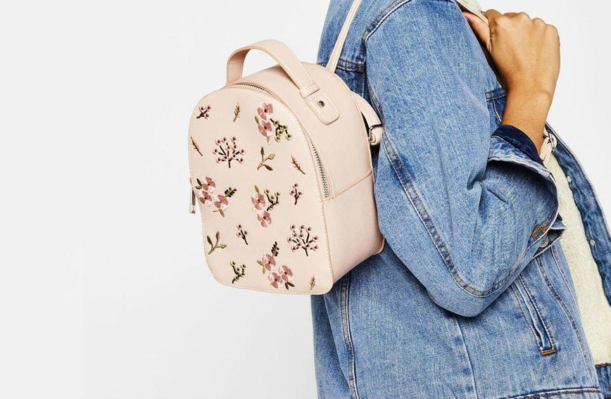 Slatki ruksak iz nove kolekcije u Bershki