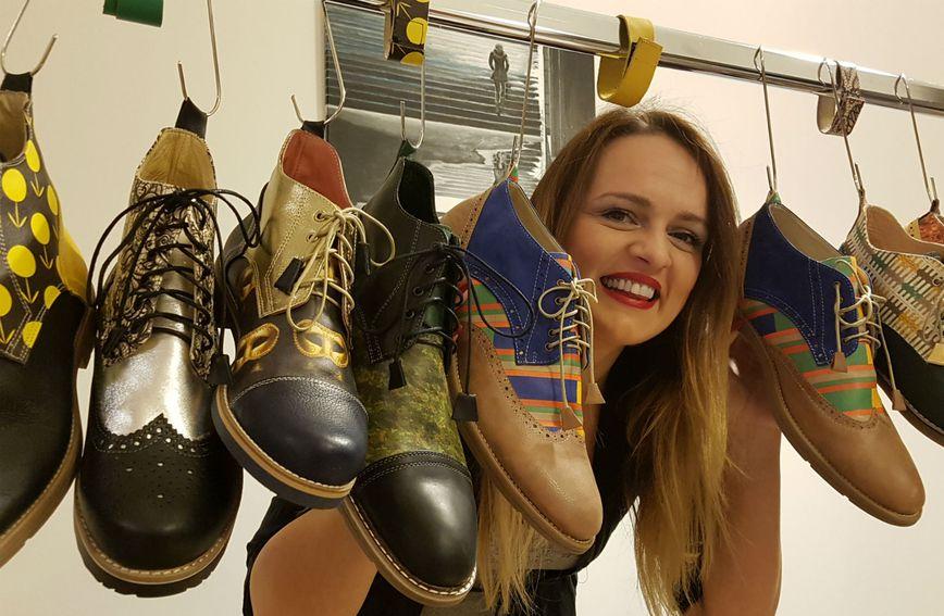 Cipele Nikoline Poropat su uistinu posebne jer svatko tko ih poželi nositi sam bira boju i printeve koji će krasiti njegovu cipelu. (Foto: NinaNIna Fashion)