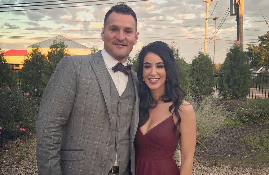 Stipe Miočić i njegova supruga Ryan Marie