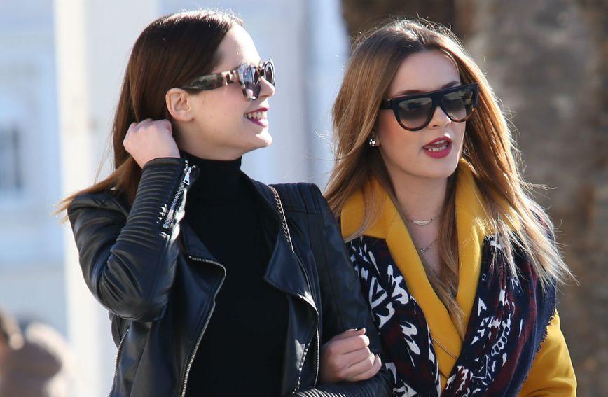Street style modno usklađenih prijateljica iz Splita
