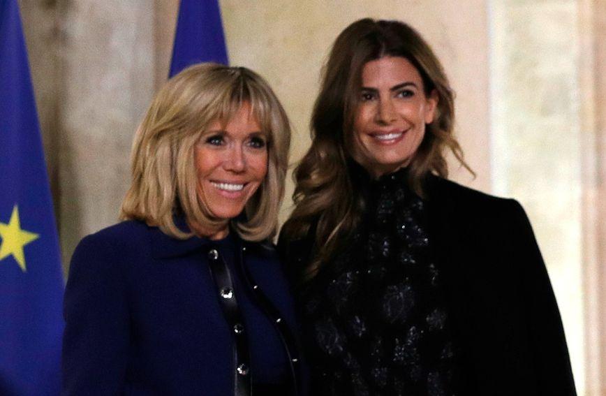 Brigitte Macron i Juliana Awada