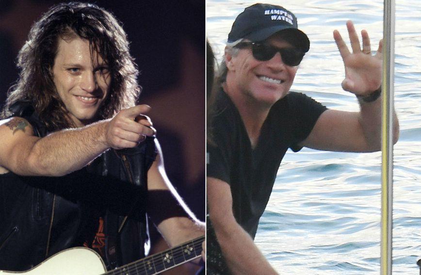 Jon Bon Jovi osamdesetih godina i danas