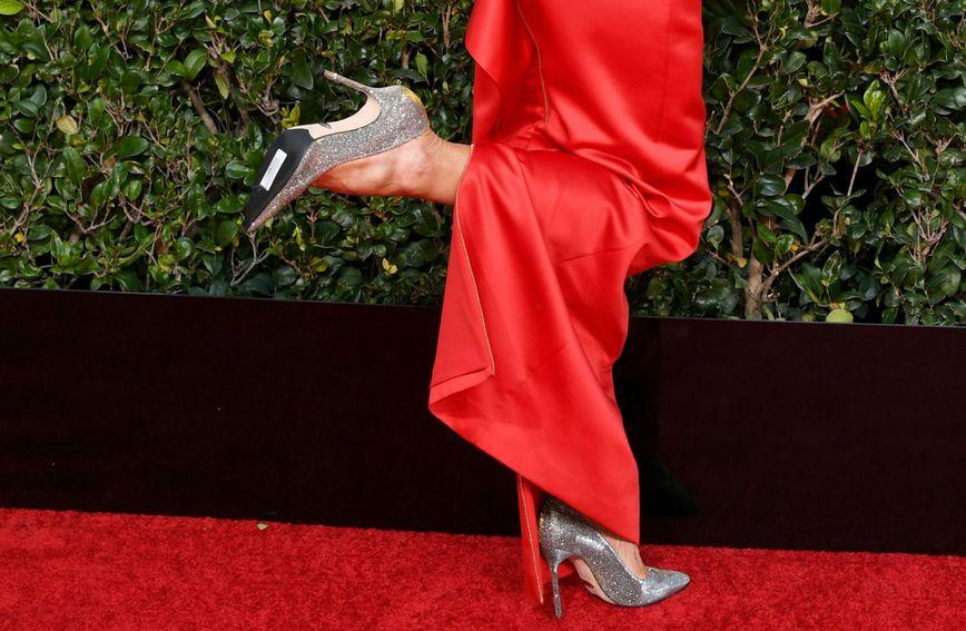 Na đonu cipela Missi Pyle ostala je etiketa