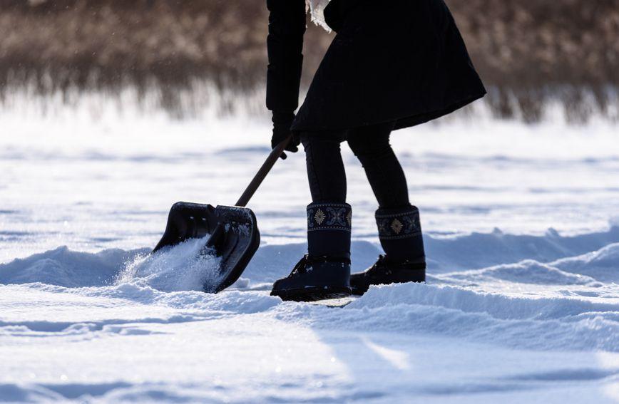Čišćenje snijega smatra se intenzivnim 'treningom'