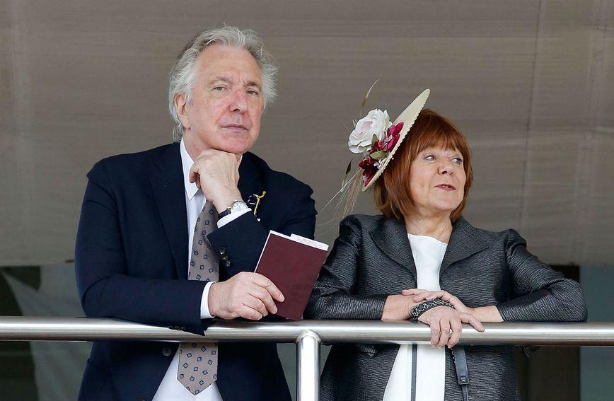 Alan Rickman i Rima Horton
