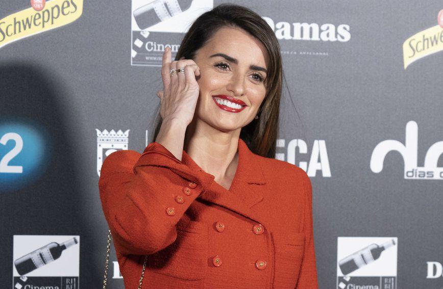 Penelope Cruz na dodjeli nagrada Dias de Cine održanoj u Madridu