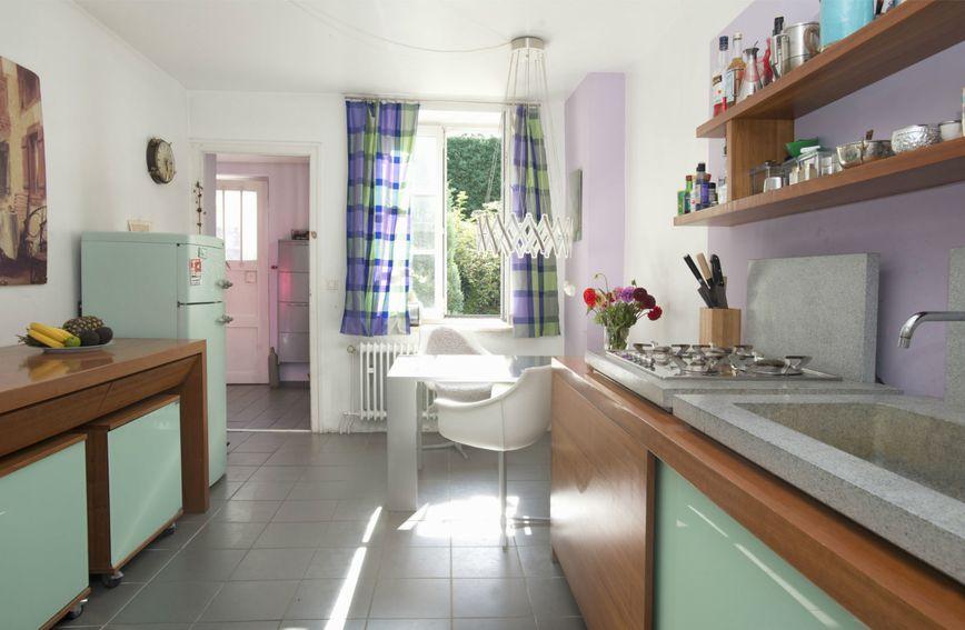 Kuhinja u zelenoj boji