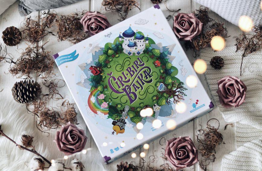 Čiri-biri bajka je prva hrvatska društvena igra pripovijedanja na ploči za djecu i odrasle