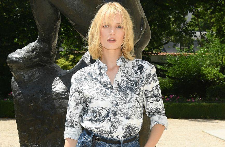 Maya Thurman-Hawk u Parizu uoči predstavljanja Diorove Resort kolekcije za 2019.