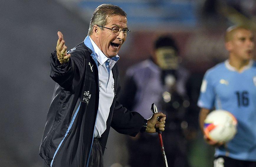 Oscar Washington Tabarez uspješno vodi nogometnu reprezentaciju Urugvaja