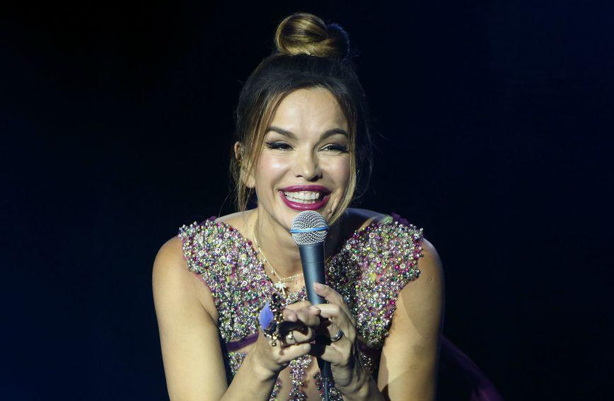 Severina na koncertu u Poreču