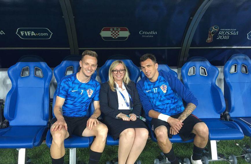 Iva Olivari je team menadžerica hrvatske nogometne reprezentacije - 1