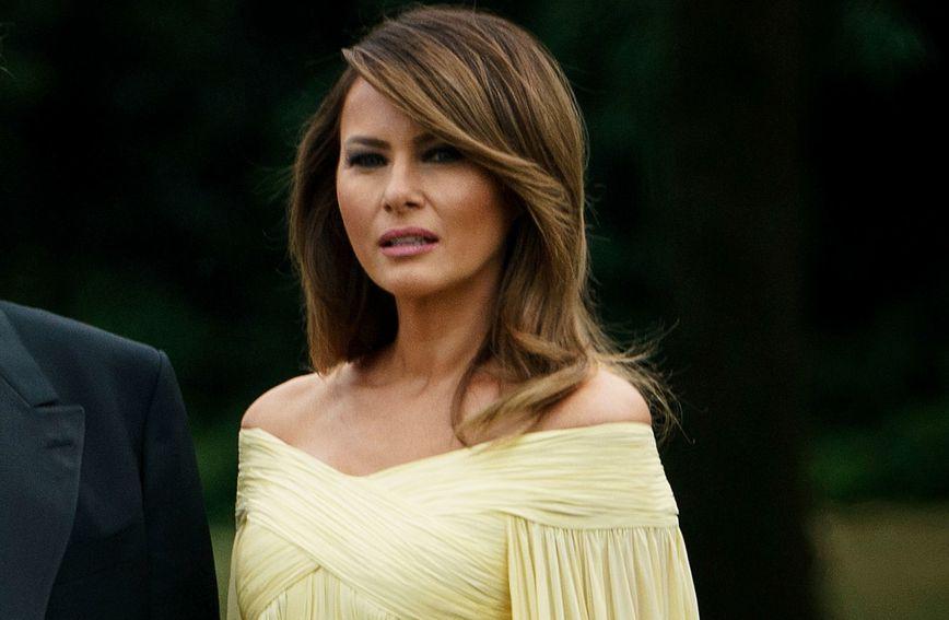 Melania Trump u balskoj haljini na gala večeri