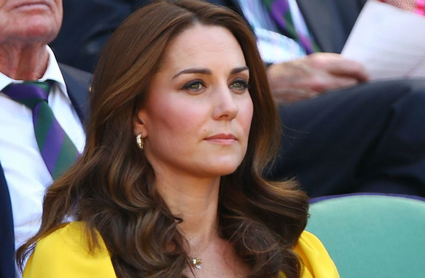 Catherine Middleton na Wimbledonu