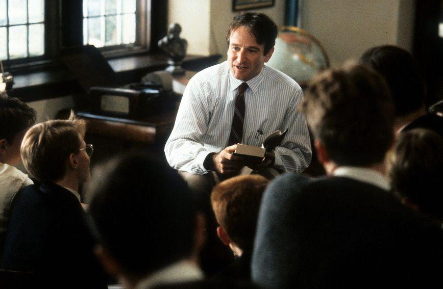 Profesora Johna Keatinga utjelovio je Robin Williams