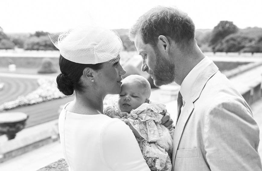Archie Harrison Mountbatten-Windsor, sin Meghan Markle i princa Harryja kršten je u subotu 6. srpnja