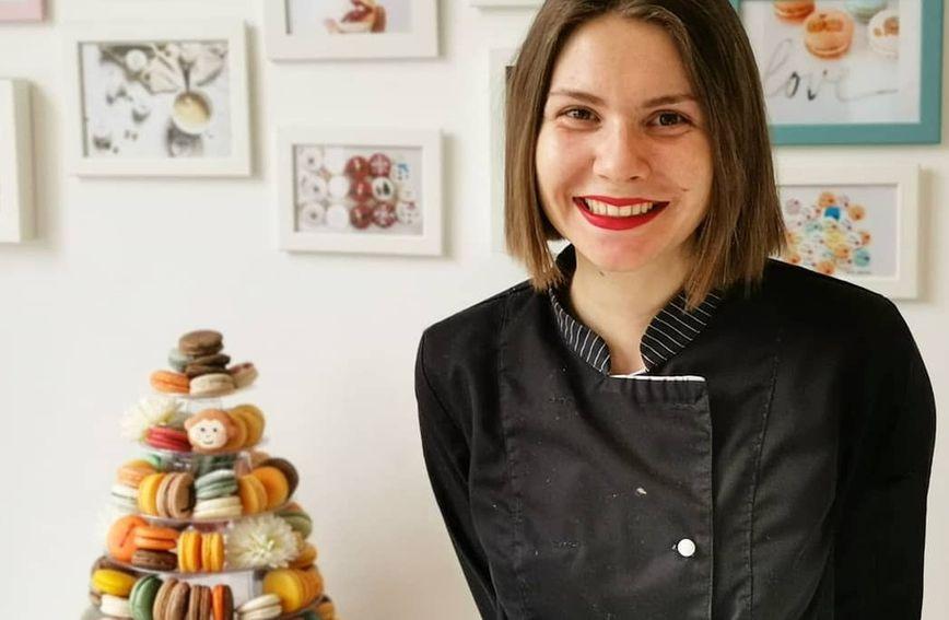 Marija Jelačić, vlasnica obrta Macarons