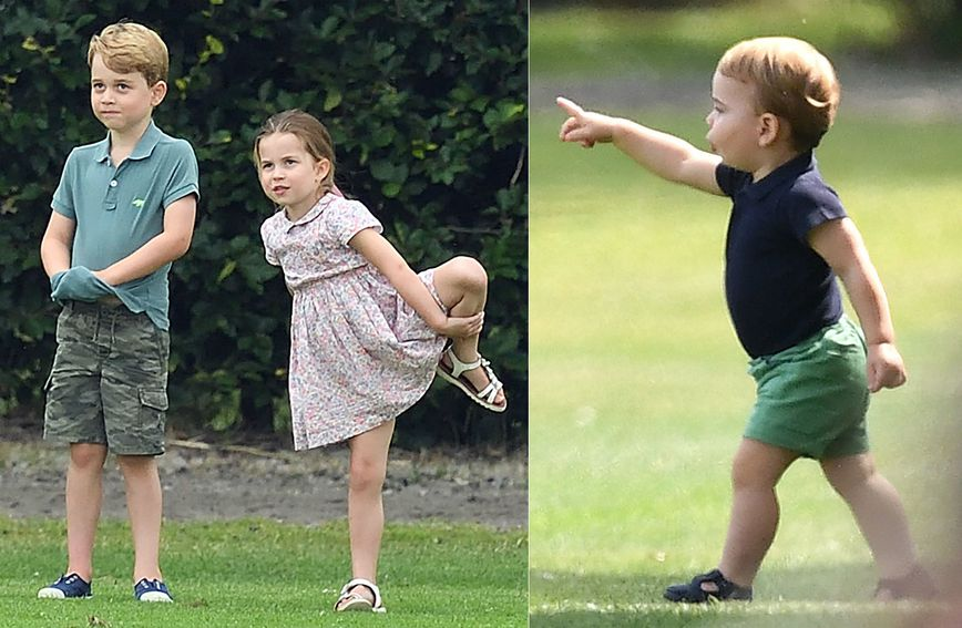 Princ George, princeza Charlotte i princ Louis su vrlo razigrana djeca