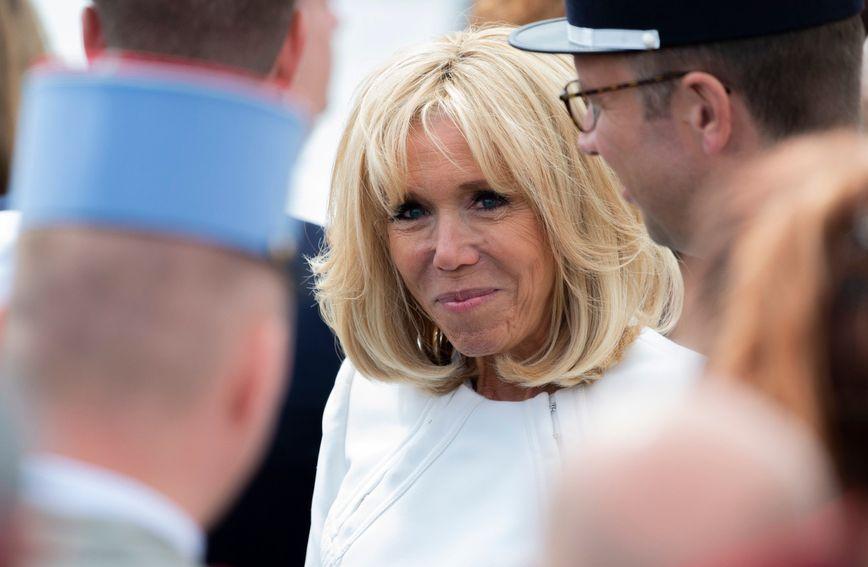 Brigitte Macron na proslavi najvećeg francuskog nacionalnog praznika, Dana pada Bastilje